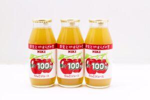 果汁100%ジュース(りんご)