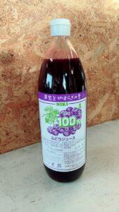 果汁100%ぶどうジュース(1リットル)